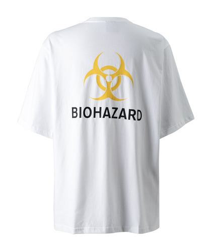 BIOHAZARD BACK POINT (White/Yellow)