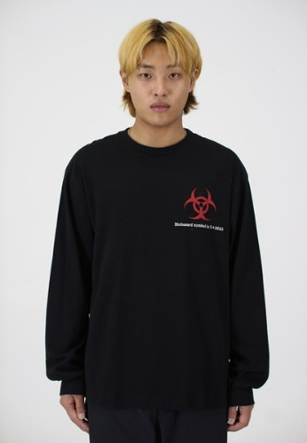 Biohazard long sleeve(black)